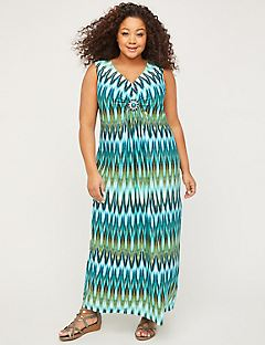 Cascading Springs Maxi Dress