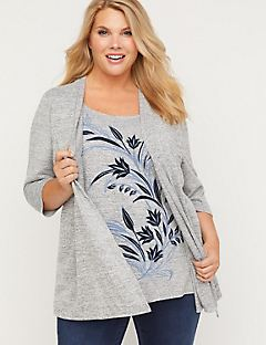 Blooms Point Duet Top
