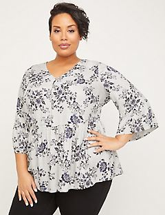 Ainsley Gardens Peasant Top