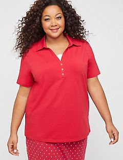 Suprema Polo Duet Top