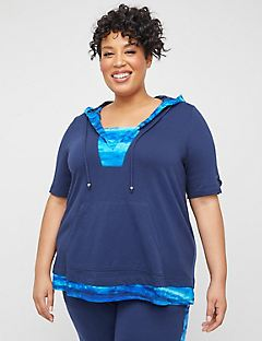 Oceanside Hooded Duet Top