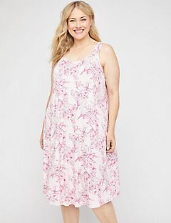 Hibiscus Bliss Sleep Gown