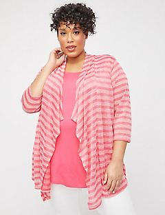 Plaza Striped Duet Top