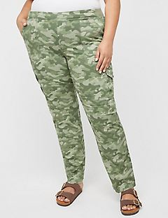 Pull-On Cargo Pant