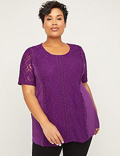 Riviera Embroidered Lace Top  (copy)