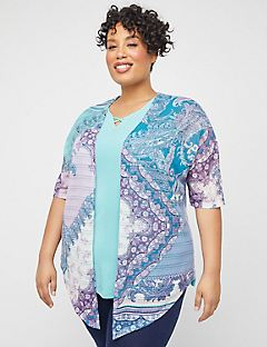 Patchwork Paisley Lace Cardigan