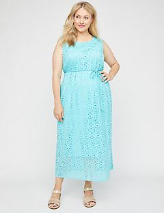 Spring Meadows Lace Maxi Dress