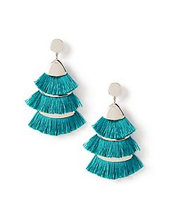 Festive Fringe Drop Earrings