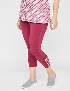 Strappy Active Legging Capri
