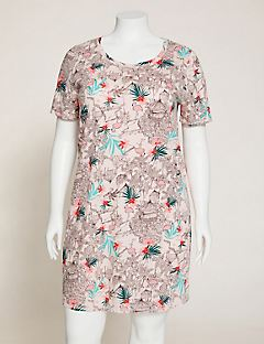 Flamingo Flair Cotton Sleepshirt