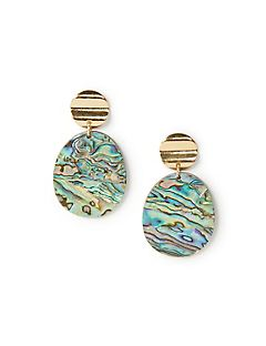 Sea Swirl Drop Earrings