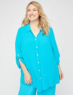 Island Breeze Gauze Tunic