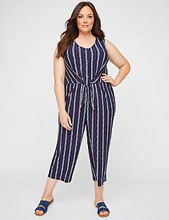 Dorset Striped Jumpsuit