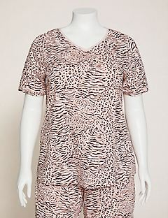 Animal Instinct Cotton Sleep Tee