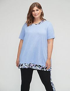 Kaleidoscope Palm Duet Tunic