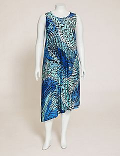 Gallery Walk A-Line Dress