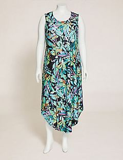Palmdale Round-Hem Maxi Dress