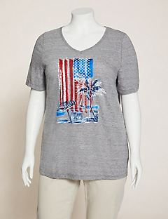 Beachside Flag Tee
