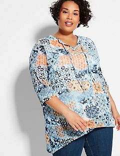 Sunrise Lace Tunic