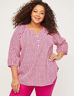 Morningstar Gingham Top
