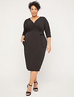 Cromwell Hill Wrap Dress (With Pockets)