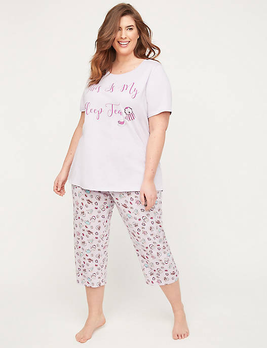 Tea Time Cotton Sleep Tee