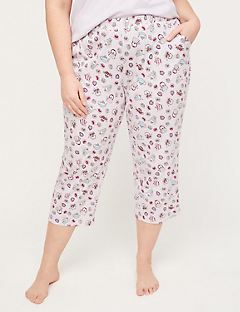 Tea Time Cotton Sleep Capri