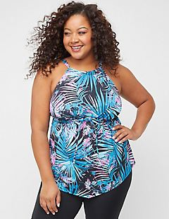 Tropical Breeze Tankini Top