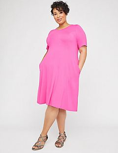 Brightside A-Line Dress (With Pockets)