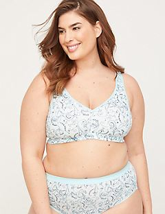 Cotton Comfort No-Wire Bra