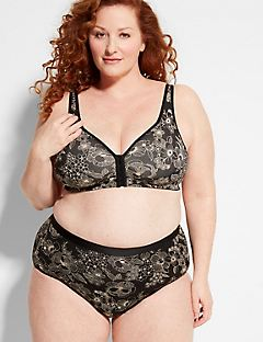 Cotton Comfort Front-Close No-Wire Bra